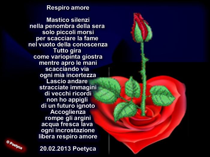 Respiro amore