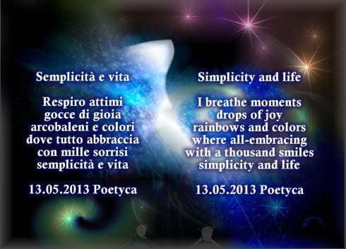 semplicità e vita