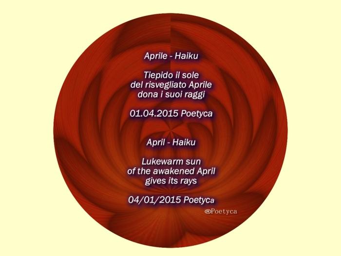 aprile- haiku